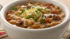 Cheesy Chorizo Chili Recipe