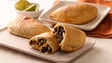 Black Bean and Cheese Empanadas