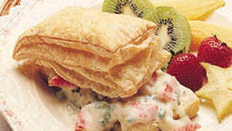 Crab in Puff Pastry