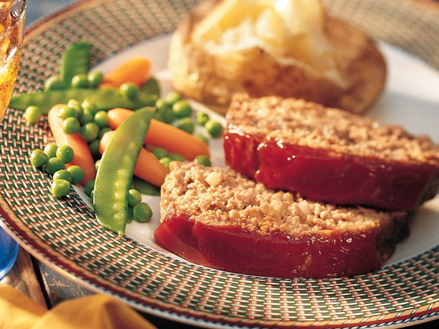 Savory Meat Loaf (lighter recipe)
