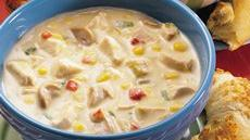 Creamy Chicken-Vegetable Chowder Recipe
