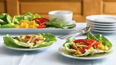 Chicken-Filled Lettuce Wraps Recipe