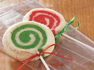 Mint-Swirl&#32;Lollipop&#32;Cookies