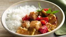 Caribbean Pork Stew with Peppers Recipe