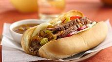 Italian Beef Hoagies Recipe