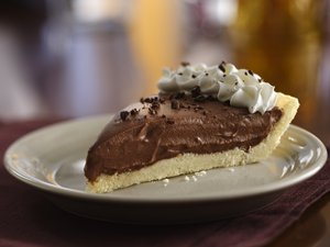 Gluten Free Creamy Chocolate Pie