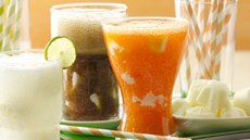 Greek 100 Orange Cream Floats Recipe