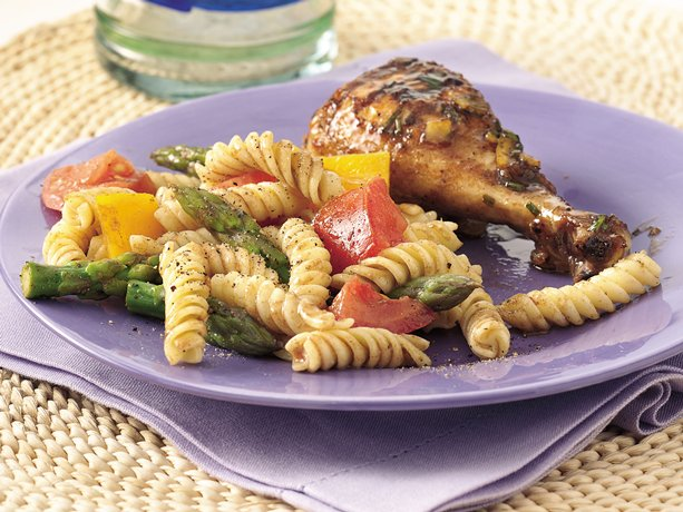 Image of Asparagus And Tomato Pasta Salad, Betty Crocker