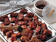 Cranberry Barbecued Ribs
