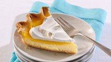 Lemon-Layer Cream Cheese Pie Recipe