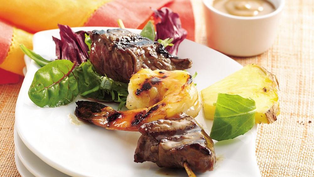 Grilled Surf and Turf Kabobs