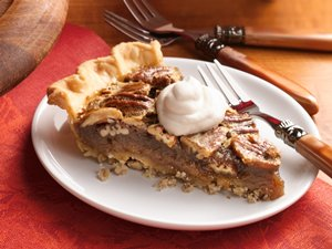 Bourbon&#32;Pecan&#32;Pie&#32;with&#32;Pecan&#32;Crust