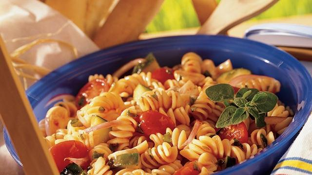 Italian Herb Pasta Salad