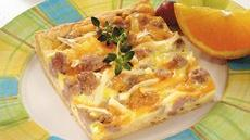Sausage-Tater Crescent Pizza Recipe