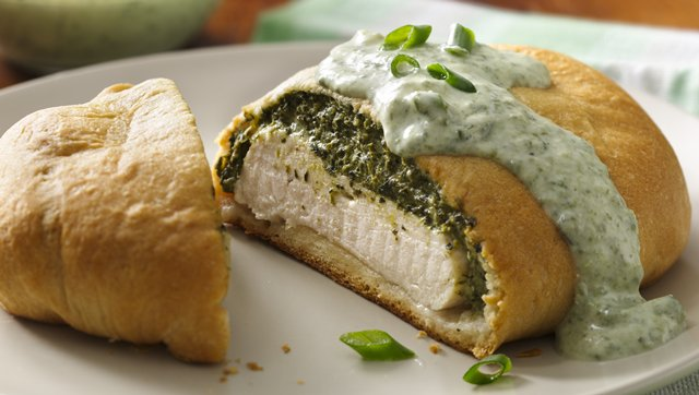 Green Goddess Chicken Wellington