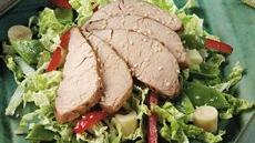 Asian Pork and Vegetable Salad Recipe