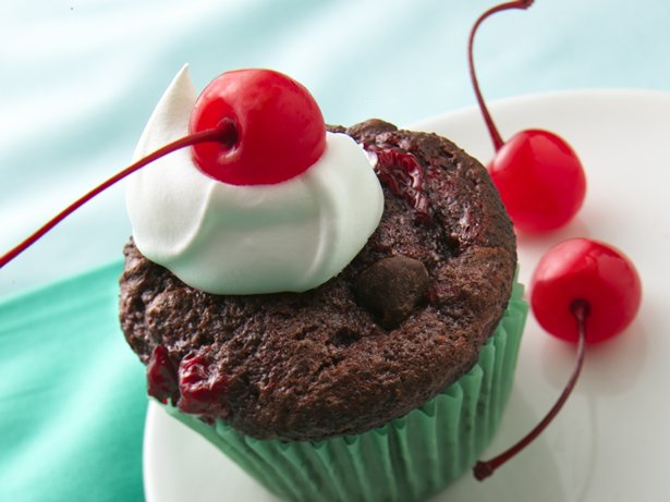 Black Forest Muffin Cakes
