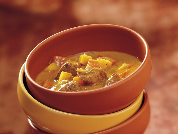 Curried Coconut Beef with Winter Vegetables