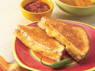 Mexican Grilled Cheese Sandwiches recipe from Betty Crocker