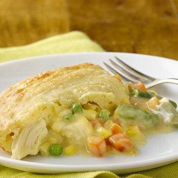 Impossibly Easy Chicken Pot Pie recipe from Betty Crocker