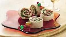 Greek Salad Pinwheels Recipe