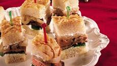 Beef Tenderloin and Caramelized Onion Sandwiches Recipe