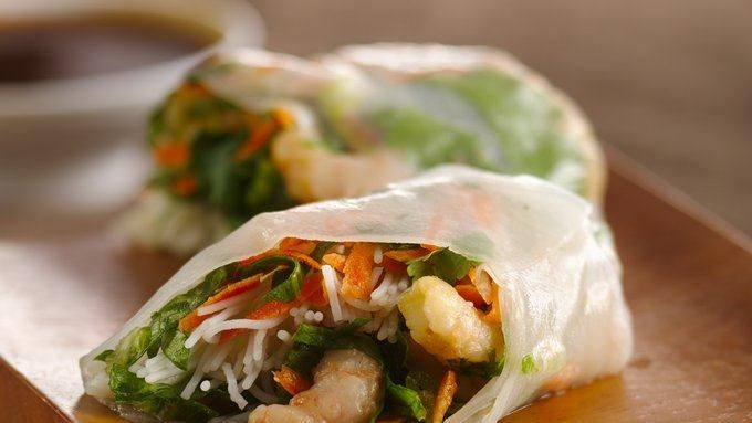 Shrimp Summer Rolls with Dipping Sauce recipe - from Tablespoon!