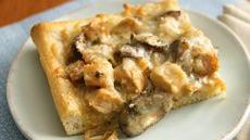 Creamy Chicken Marsala Pizza Recipe