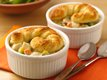 Mini Chicken Alfredo Pot Pies