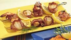 Bacon-Wrapped Seafood Kabobs Recipe
