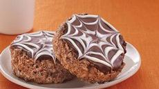 Chocolate Spiderweb Treats Recipe