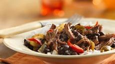 Slow Cooker Cuban Flank Steak (Cooking for Two) Recipe