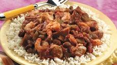 Slow-Cooked Jambalaya-Style Red Beans and Rice Recipe