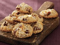 Crispy Coconut-Date Cookies