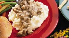 Hamburger Gravy Recipe