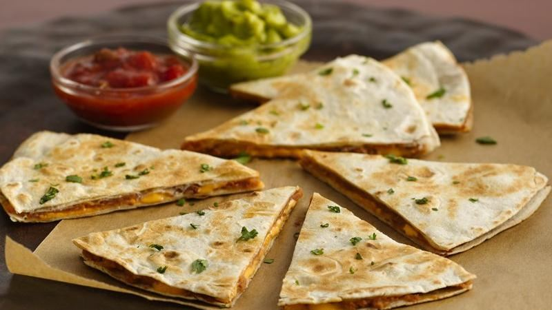 Quick Bean Quesadillas