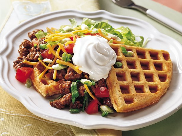 Tostada Waffles