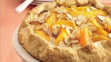 Almond-Peach Fold-Over Coffee Cake Recipe