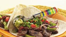 Chipotle-Beef Fajitas Recipe