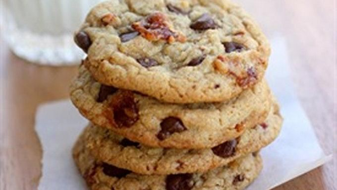 Candied Bacon Chocolate Chip Cookies recipe - from Tablespoon!