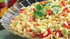 Curried Orzo and Vegetable Salad Recipe