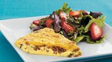 Sausage and Cheese Frittata Recipe