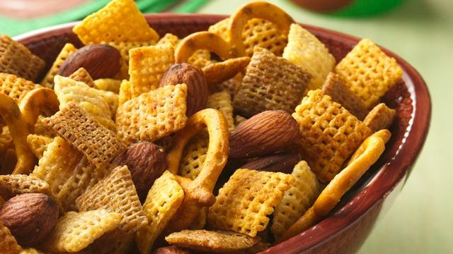 The Big Game Chex Mix