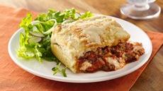 Deep-Dish Lasagna Pie Recipe