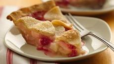 Rosy Raspberry-Pear Pie Recipe