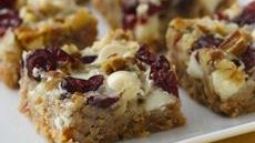 White Chocolate Cranberry Layer Bars Recipe