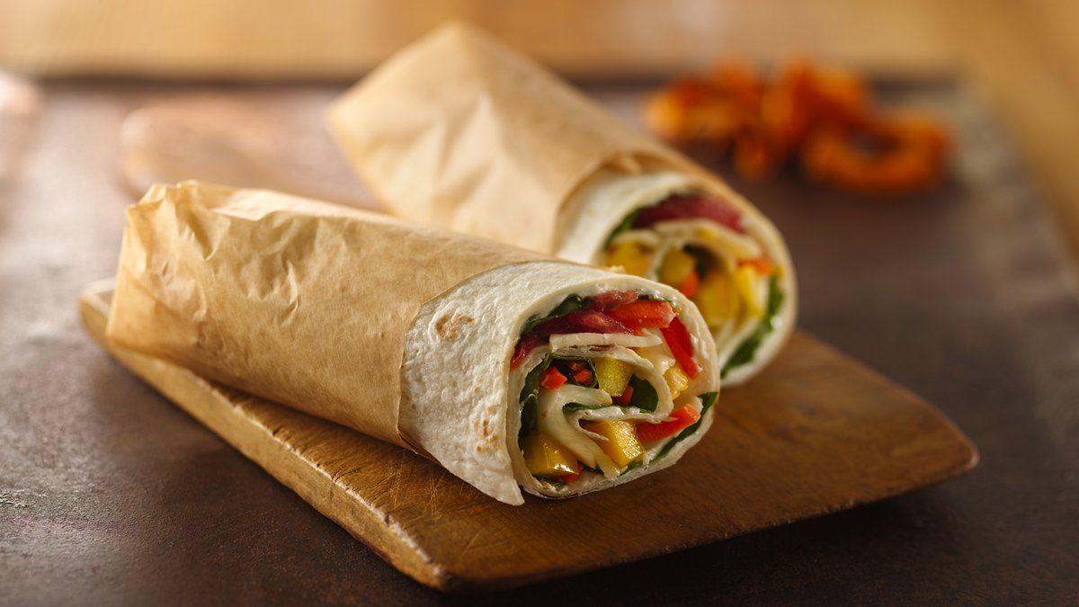 Garden Vegetable Wraps - Life Made Delicious