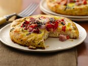 Ham &amp; Eggs Fritatta Biscuits