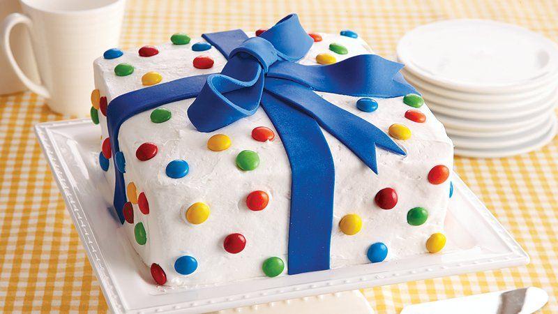 Birthday Present Cake Recipe From Betty Crocker
