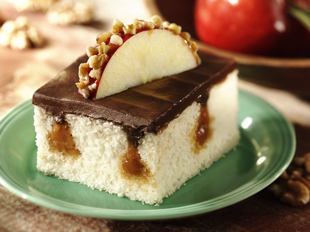 Caramel Surprise Cake